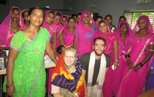 Evaluation team Enjoyed with RSKS Women