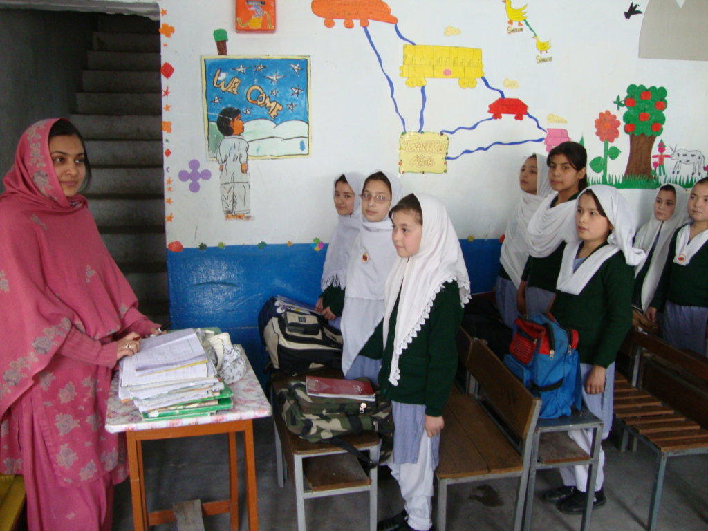 Pakistani School Security Improvements