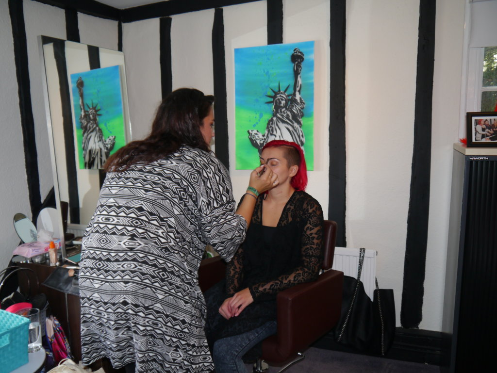 Beauty Workshop with Young People with Cancer