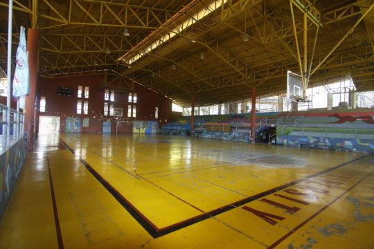 Empty Gymnasium