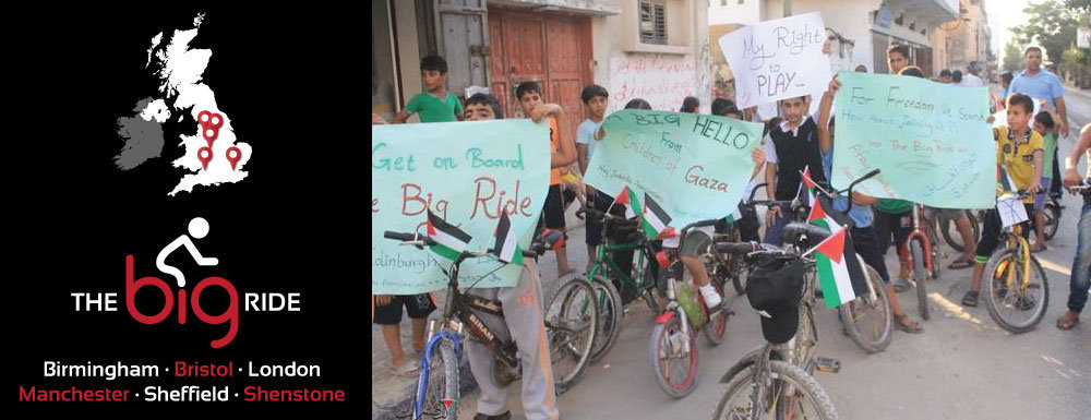 Cycling & Sports for Palestinian Children in Gaza