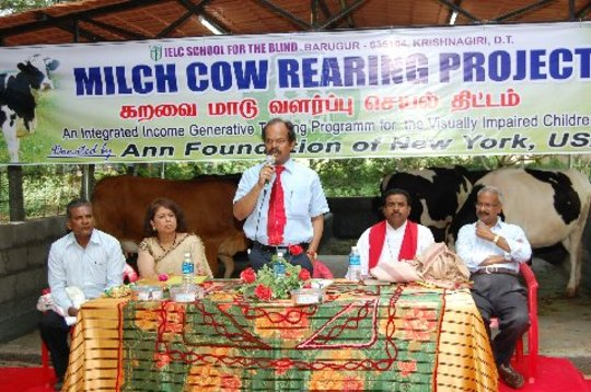 Inauguration of cattle farming operation