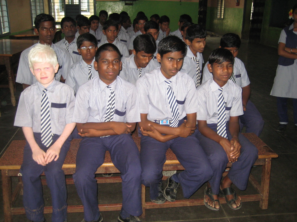 Students of IELC School, Vellore, India