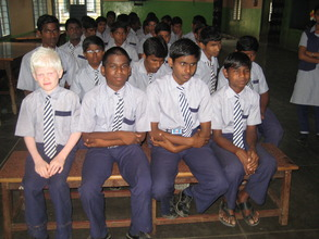 Students of IELC School, Vellore, India