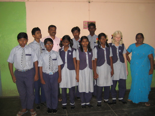 Students of IELC school