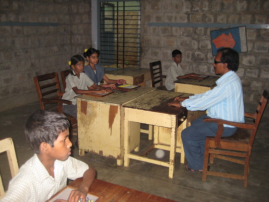 Students attending the class