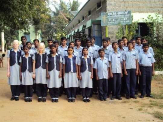 Students of IELC, Bargur, India