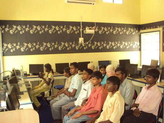 Students at IELC School
