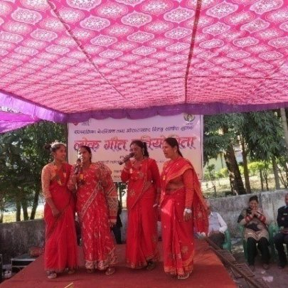 Folk song competition