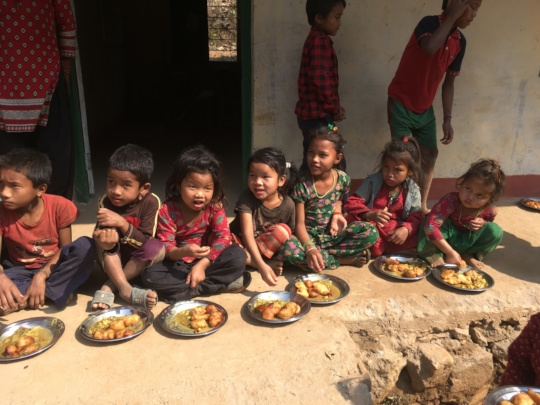 Midday meals have increased attendance by 41%
