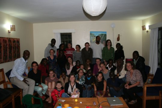 Our group launch in Eldoret, Kenya
