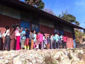Bindabasini Narrow School grounds.