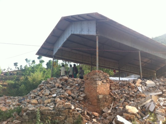 School Distroyed by Earthquake