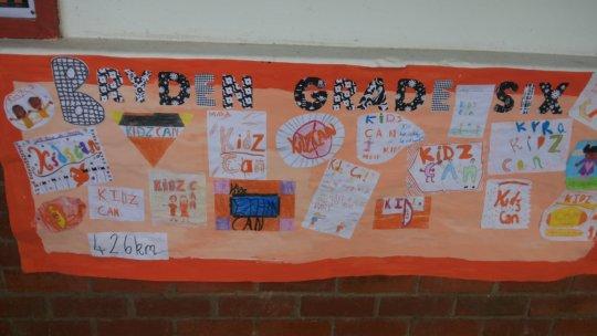 Children for Children, raising money for Kidzcan
