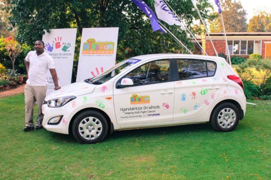 Transporting children with cancer