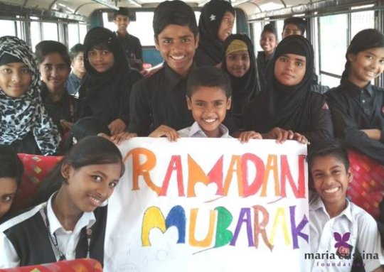 Most of the children also celebrated Ramadan.