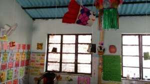 Lively classroom