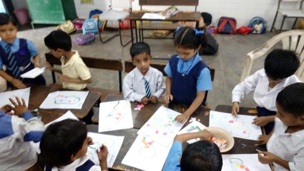 Transforming a  Government Primary School in Delhi