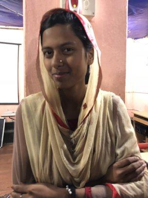 Resham, Child Club leader, future journalist