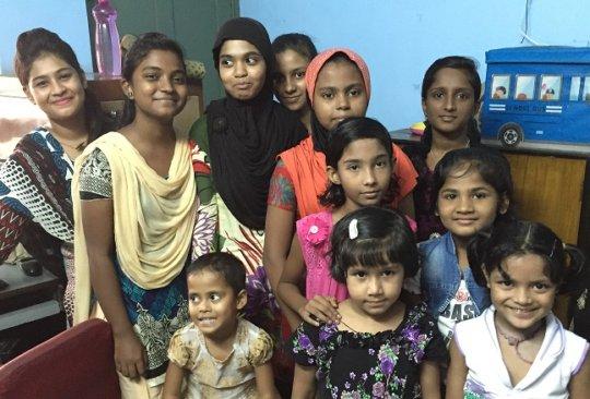 Educate Destitute Girls in Kolkata, India