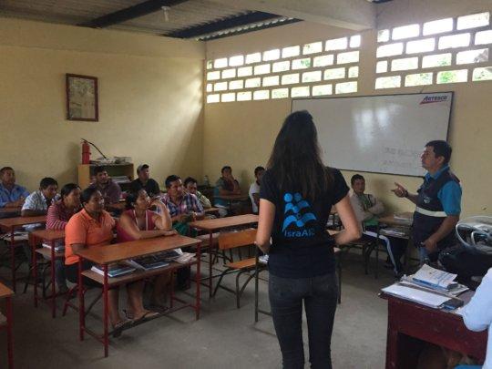 Implementation of NUF in La Humedad, San Vicente