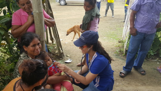 Relief and recovery following the earthquake