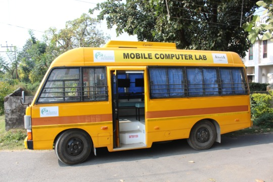 Aasraa's Mobile Computer Lab