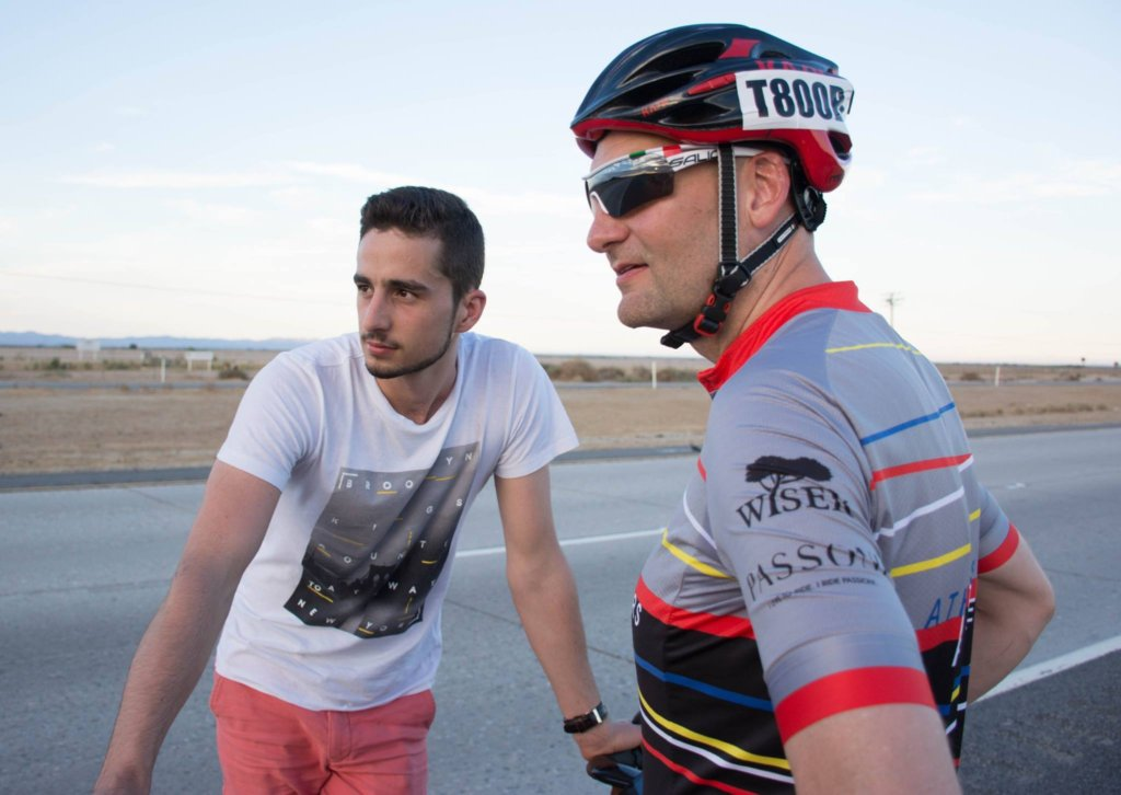 AWF Riders support WISER during the RAAM
