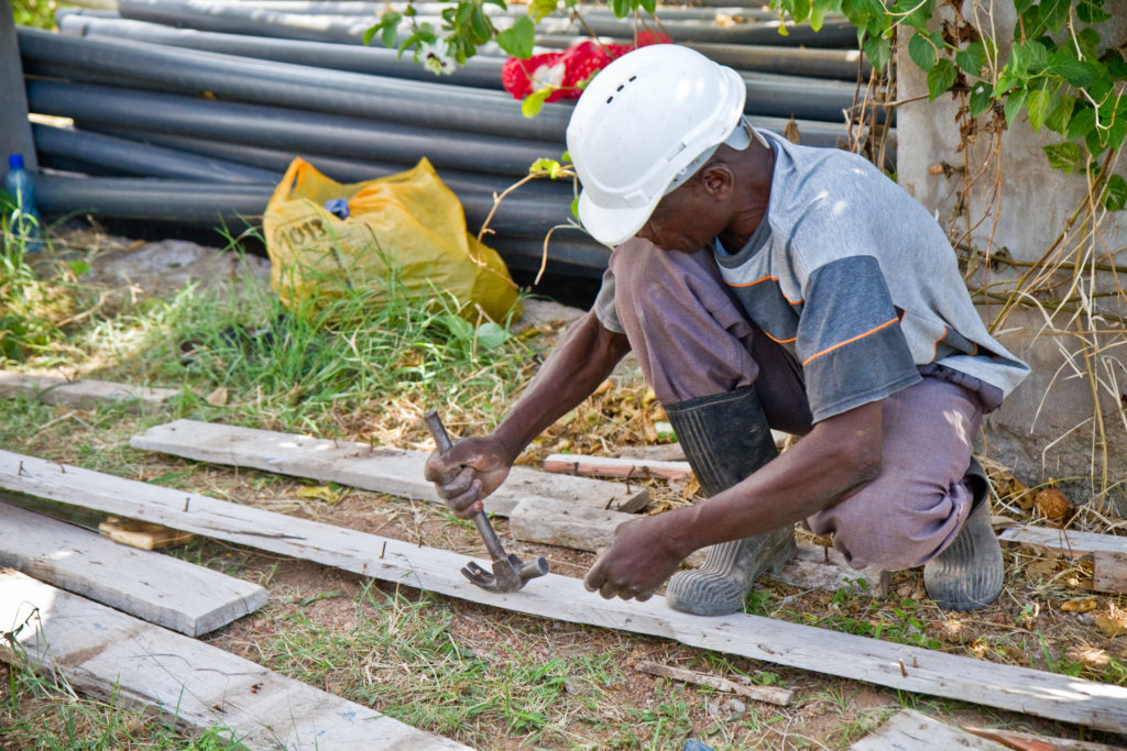 WISER contractor at work