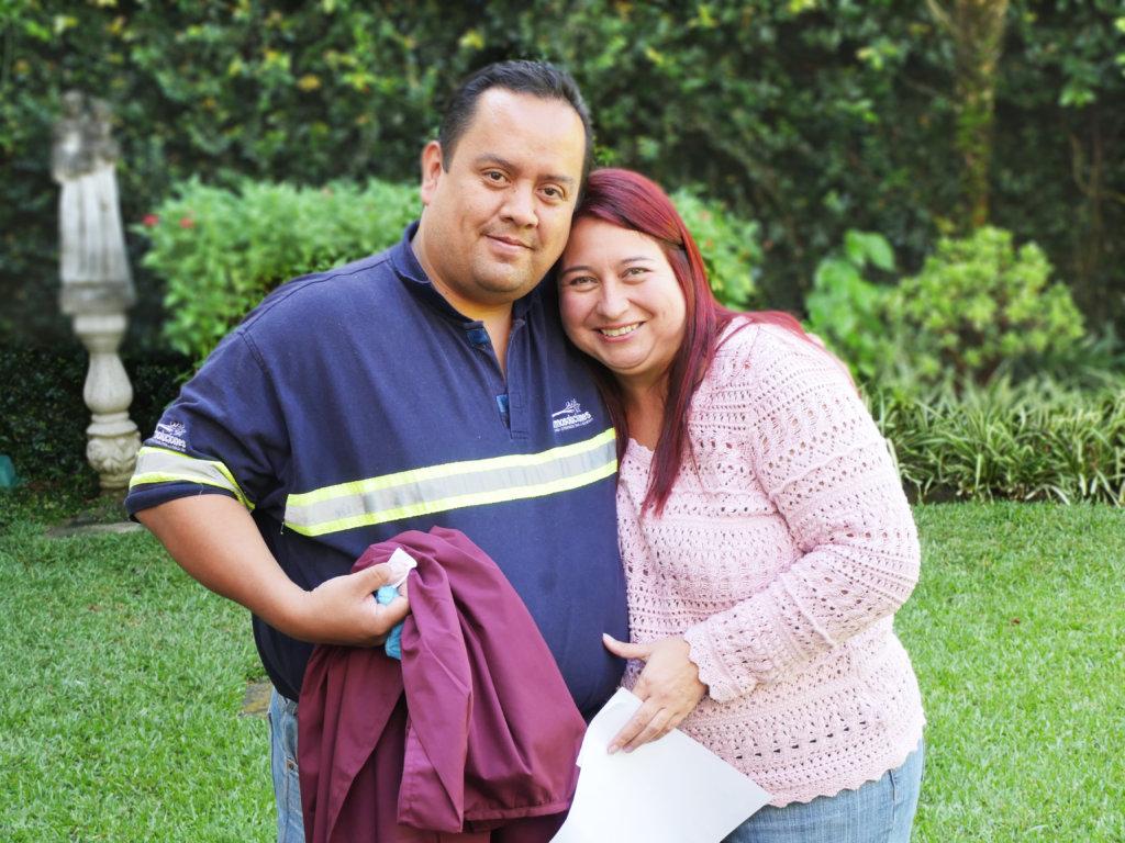 Daniel and Gaby