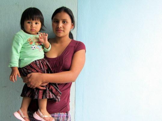 Sandra and her daughter Ana