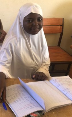 Nafissa envisions her future, thanks to the ALC
