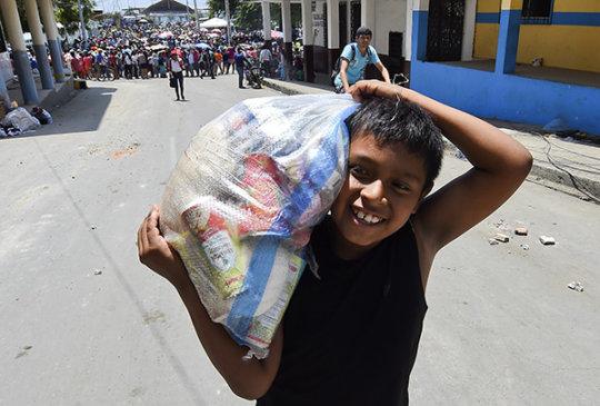 From Earthquake to Entrepreneur...Ecuador