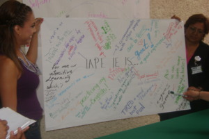 To me, IAPE means...