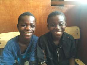 Two boys participating in SAP's programme