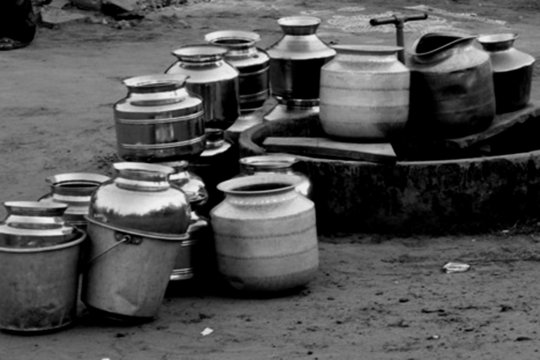 empty vessels waiting for water