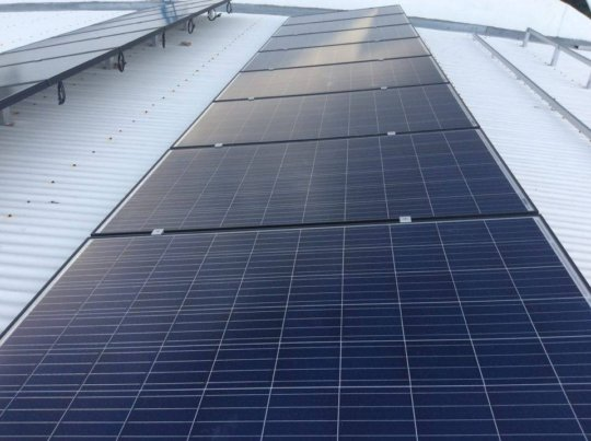 Additional Panels installed