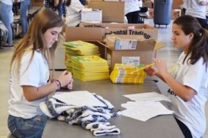 SBT Packing Event Volunteers