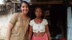 Peace Fellow Komal with NEFAD in Nepal