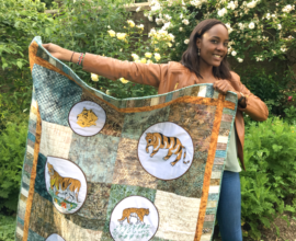 Vicky will teach embroidery training in Nepal