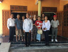 Peace Fellow Marcela with AEPD in Vietnam