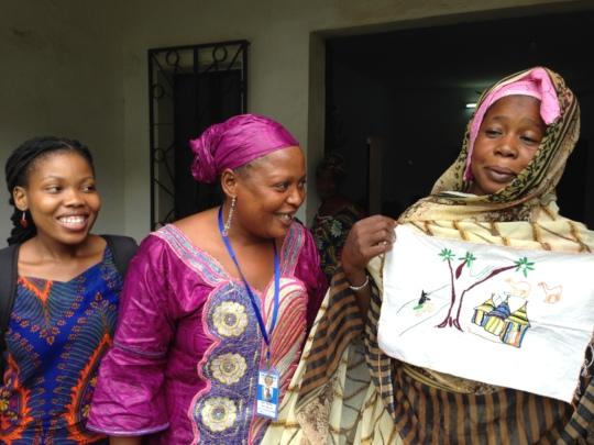 Peace Fellow Refilwe (left) served in Mali in 2015