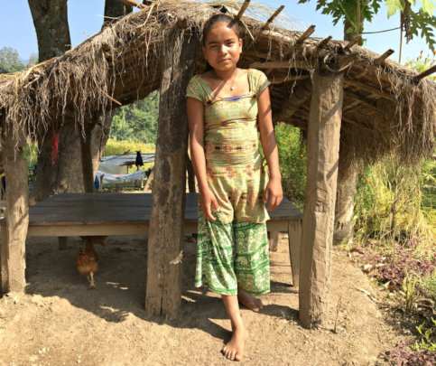 Banished to a cowshed during menstruation in Nepal