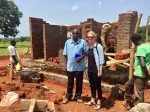 Lauren helped to install an accessible toilet