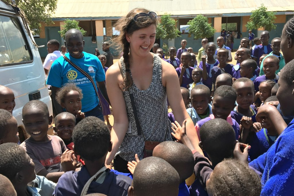 What they can expect: Talley in Kenya last year