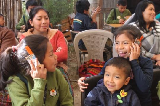 CETC kids phoning