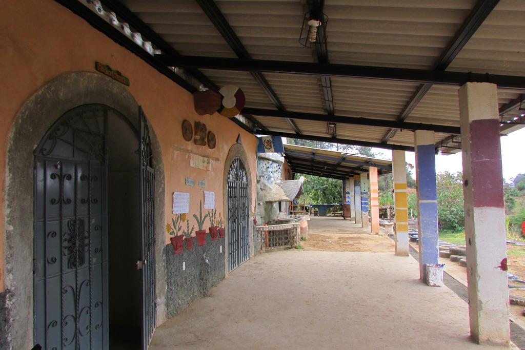 The halls of Tecnico Chixot