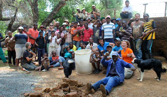 Crew in South Africa
