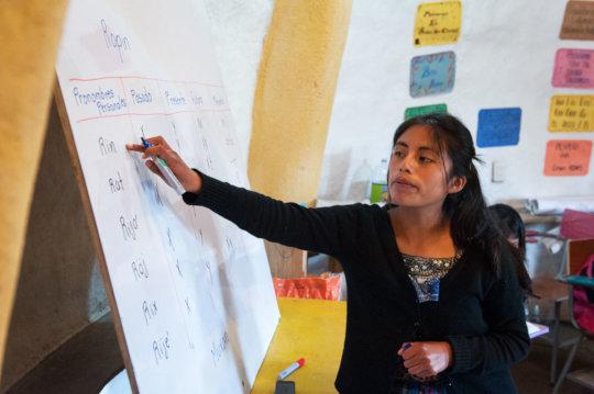 Heydi Bal, Teacher Tecnico Chixot