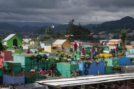 Dia de los Santos in Comalapa